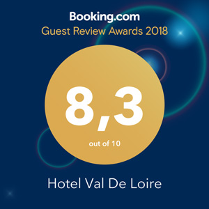 booking awards 2018 val de loire hôtel